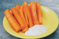 Carrots and ranch